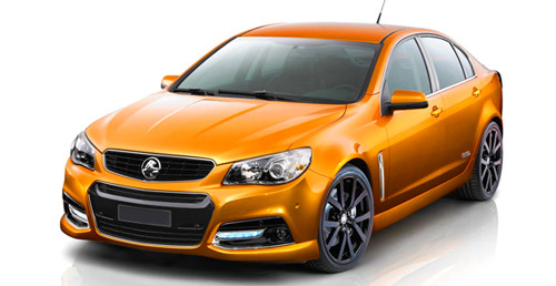 Orange Holden 1
