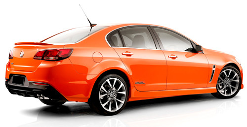 Orange Holden 2